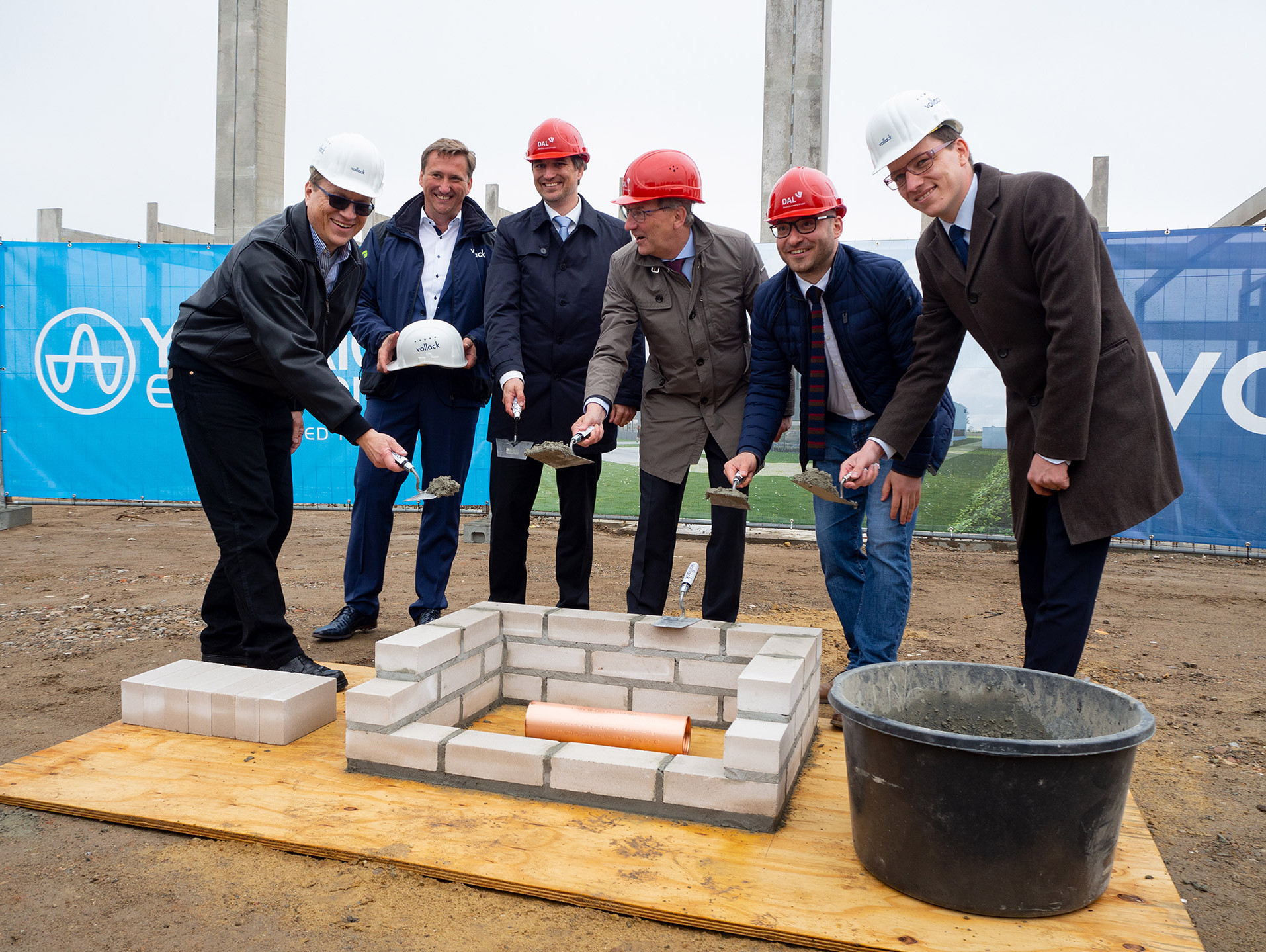 laying of the foundation stone