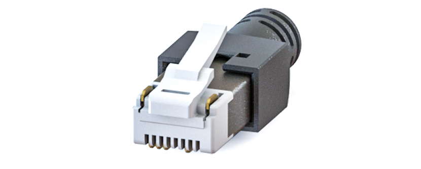 RJ45 - Y-CON - IP20 - Kit - Plug - 4 Signal / 2 Power Contacts