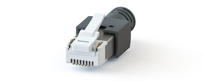 RJ45 - Y-CON - IP20 - Kit - Plug - 6 Signal / 2 Power Contacts