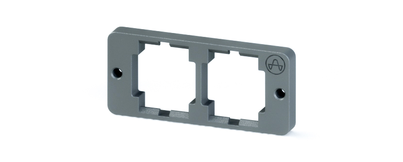 RJ45 - Y-CON - IP20LOCK - Holding Frame x 2 - Needed for IP20 Vibration Protection