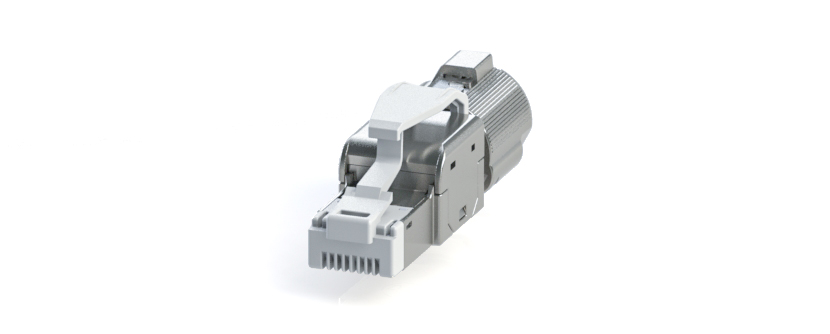 RJ45 - Y-CON IP20 - Plug - Tool Free Assembly - CAT5