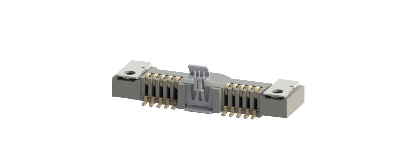 Power Connector - BECPOW - 10pins - 0,3µm AU plating
