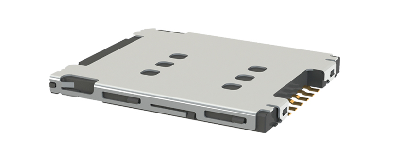 SIM Card Connector - tray type - reversed type