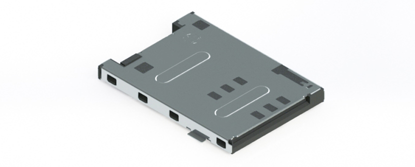 SIM Card Connector - push/push type
