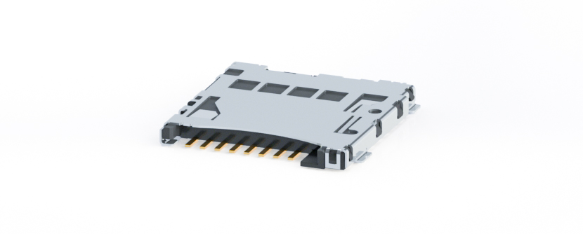 Micro SD Card Connector - push/push type